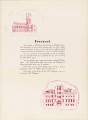 Page 7, 1950 Edition, Phillips University - Phillipian Yearbook (Enid, OK) online yearbook collection