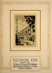 Page 7, 1928 Edition, Oklahoma State University - Redskin Yearbook (Stillwater, OK) online yearbook collection
