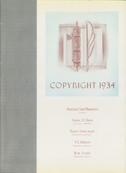 Page 12, 1934 Edition, Oklahoma State University - Redskin Yearbook (Stillwater, OK) online yearbook collection