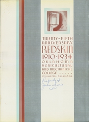 Page 5, 1934 Edition, Oklahoma State University - Redskin Yearbook (Stillwater, OK) online yearbook collection