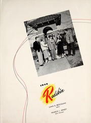 Page 7, 1949 Edition, Oklahoma State University - Redskin Yearbook (Stillwater, OK) online yearbook collection