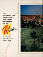 Page 8, 1949 Edition, Oklahoma State University - Redskin Yearbook (Stillwater, OK) online yearbook collection