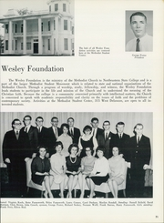 Page 75, 1964 Edition, Northeastern State University - Tsa La Gi Yearbook (Tahlequah, OK) online yearbook collection