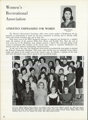 Page 76, 1964 Edition, Northeastern State University - Tsa La Gi Yearbook (Tahlequah, OK) online yearbook collection