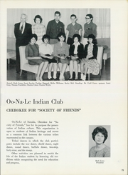 Page 77, 1964 Edition, Northeastern State University - Tsa La Gi Yearbook (Tahlequah, OK) online yearbook collection