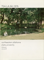 Page 5, 1975 Edition, Northeastern State University - Tsa La Gi Yearbook (Tahlequah, OK) online yearbook collection