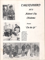 Page 5, 1973 Edition, Monroney Middle School - Thunderbirds Yearbook (Midwest City, OK) online yearbook collection