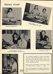 Page 8, 1959 Edition, East Central University - Pesagi Yearbook (Ada, OK) online yearbook collection