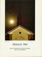 Page 5, 1966 Edition, East Central University - Pesagi Yearbook (Ada, OK) online yearbook collection
