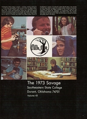 Page 5, 1973 Edition, Southeastern Oklahoma State University - Savage Yearbook (Durant, OK) online yearbook collection