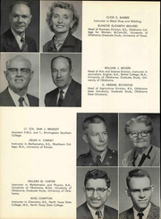 Page 16, 1958 Edition, Cameron University - Wichita Yearbook (Lawton, OK) online yearbook collection