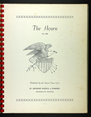 Page 5, 1941 Edition, St Anthonys School of Nursing - Acorn Yearbook (Oklahoma City, OK) online yearbook collection