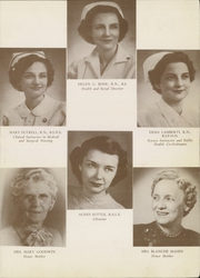 Page 11, 1952 Edition, St Anthonys School of Nursing - Acorn Yearbook (Oklahoma City, OK) online yearbook collection