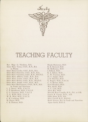 Page 12, 1952 Edition, St Anthonys School of Nursing - Acorn Yearbook (Oklahoma City, OK) online yearbook collection