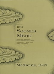 Page 5, 1964 Edition, University of Oklahoma - Sooner Medic Yearbook (Oklahoma City, OK) online yearbook collection