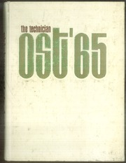1965 Edition, Oklahoma State University Institute of Technology - Technician Yearbook (Okmulgee, OK)
