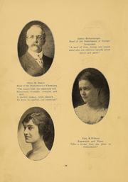 Page 10, 1916 Edition, Northern Oklahoma College - Roundup Yearbook (Tonkawa, OK) online yearbook collection