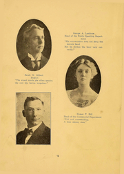 Page 12, 1916 Edition, Northern Oklahoma College - Roundup Yearbook (Tonkawa, OK) online yearbook collection