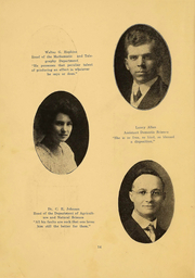 Page 14, 1916 Edition, Northern Oklahoma College - Roundup Yearbook (Tonkawa, OK) online yearbook collection