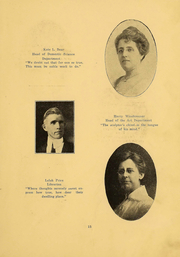 Page 15, 1916 Edition, Northern Oklahoma College - Roundup Yearbook (Tonkawa, OK) online yearbook collection