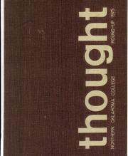 1975 Edition, Northern Oklahoma College - Roundup Yearbook (Tonkawa, OK)