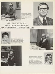 Page 9, 1972 Edition, Nimitz Junior High School - Mast Yearbook (Tulsa, OK) online yearbook collection
