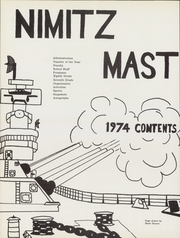 Page 6, 1974 Edition, Nimitz Junior High School - Mast Yearbook (Tulsa, OK) online yearbook collection