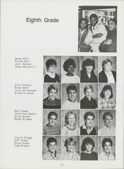 Page 14, 1985 Edition, Nimitz Junior High School - Mast Yearbook (Tulsa, OK) online yearbook collection