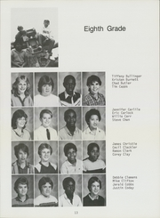 Page 15, 1985 Edition, Nimitz Junior High School - Mast Yearbook (Tulsa, OK) online yearbook collection