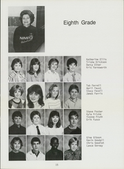 Page 17, 1985 Edition, Nimitz Junior High School - Mast Yearbook (Tulsa, OK) online yearbook collection