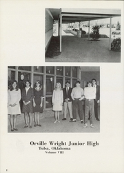 Page 4, 1967 Edition, Orville Wright Junior High School - Kittyhawk Yearbook (Tulsa, OK) online yearbook collection