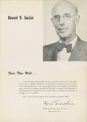Page 13, 1949 Edition, Civil Aeronautics Training Center - Skyways Yearbook (Oklahoma City, OK) online yearbook collection