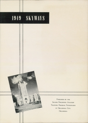 Page 3, 1949 Edition, Civil Aeronautics Training Center - Skyways Yearbook (Oklahoma City, OK) online yearbook collection