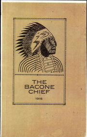 Page 1, 1915 Edition, Bacone College - Warrior Yearbook (Muskogee, OK) online yearbook collection