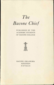 Page 7, 1915 Edition, Bacone College - Warrior Yearbook (Muskogee, OK) online yearbook collection
