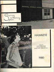 Page 5, 1980 Edition, Haskell Middle School - Hawkeye Yearbook (Broken Arrow, OK) online yearbook collection