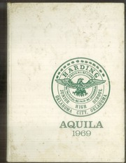 1969 Edition, Harding Junior High School - Aquila Yearbook (Oklahoma City, OK)