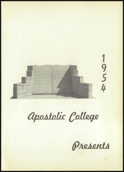 Page 5, 1954 Edition, Apostolic Christian School - Standard Yearbook (Tulsa, OK) online yearbook collection