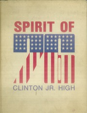 1976 Edition, Clinton Junior High School - Panther Yearbook (Tulsa, OK)
