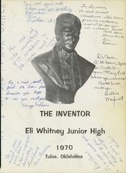 Page 3, 1970 Edition, Eli Whitney Junior High School - Inventor Yearbook (Tulsa, OK) online yearbook collection