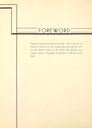 Page 12, 1935 Edition, Western Michigan University - Brown and Gold Yearbook (Kalamazoo, MI) online yearbook collection