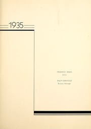 Page 7, 1935 Edition, Western Michigan University - Brown and Gold Yearbook (Kalamazoo, MI) online yearbook collection