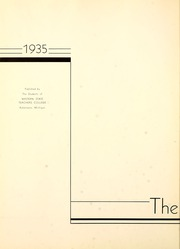 Page 8, 1935 Edition, Western Michigan University - Brown and Gold Yearbook (Kalamazoo, MI) online yearbook collection