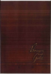 Page 1, 1941 Edition, Western Michigan University - Brown and Gold Yearbook (Kalamazoo, MI) online yearbook collection