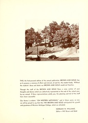 Page 11, 1947 Edition, Western Michigan University - Brown and Gold Yearbook (Kalamazoo, MI) online yearbook collection