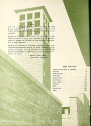 Page 8, 1952 Edition, Western Michigan University - Brown and Gold Yearbook (Kalamazoo, MI) online yearbook collection