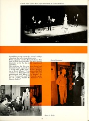 Page 15, 1953 Edition, Western Michigan University - Brown and Gold Yearbook (Kalamazoo, MI) online yearbook collection