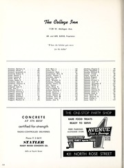 Page 322, 1957 Edition, Western Michigan University - Brown and Gold Yearbook (Kalamazoo, MI) online yearbook collection