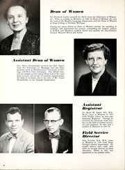 Page 98, 1957 Edition, Western Michigan University - Brown and Gold Yearbook (Kalamazoo, MI) online yearbook collection
