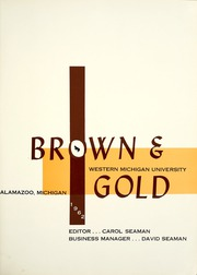 Page 5, 1962 Edition, Western Michigan University - Brown and Gold Yearbook (Kalamazoo, MI) online yearbook collection